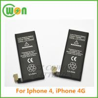 Buy cheap Replacement battery for  for iphone 4 4G 616-0513 616-0520 616-0521 A1332 A1349 MC318LL/A MC676LL/A from wholesalers