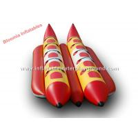 Buy cheap Waterproof Ocean Inflatable Banana Boat Towable Inflatable Water Toys from wholesalers