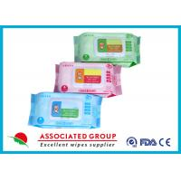 Buy cheap Various Packages Baby Wet Wipes Plain Spunlace Nonwoven Bulk Alcohol Free product