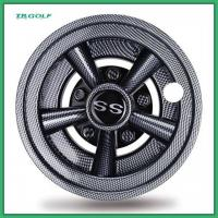 Buy cheap Strong Universal Golf Cart Wheel Covers 8 Inch Set of 4 330g Weight product