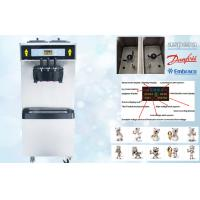 Buy cheap Smart System Soft Ice Cream Vending Machine , 38-55 Liters/Hour , Low Noisy , Full Stainless Steel 304 Shell from wholesalers