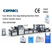 Buy cheap PP Woven Bag / Automatic Carry Bags Manufacturing Machines Eco Friendly from wholesalers