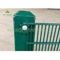 Buy cheap 3 × 1 / 2 Anti Climb Fence / Anti Cut High Security Wire Fence For Tower Station from wholesalers