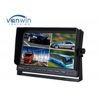 Buy cheap Truck / Van / Bus TFT Car Monitor 24v 10.1 inch 16:9 digital rear view monitor 4 ways input / output from wholesalers
