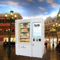 Buy cheap Automatic Combo Snacks Drinks Vending Machines , Kiosk Vending Machine With Large Capacity from wholesalers
