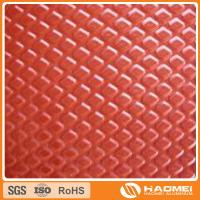 Buy cheap Best selling aluminium colored embossed sheet metal with long-term service by ISO9001 factory  Best Quality Low Price from wholesalers