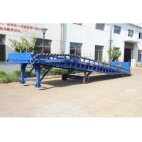Buy cheap Safety Movable Warehouse Loading Dock Ramps 6 - 10T With Anti Skid Platform from wholesalers