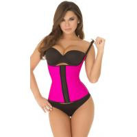 Buy cheap Sexy Bodyshapers Wholesale Hot Pink Spaghetti Strap Contour Waist Trainer with size S M,L,XL from wholesalers