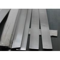 Buy cheap 201 / 202 stainless steel flat bar , cold rolled stainless steel flat stock 20x4 - 200x40 size from wholesalers
