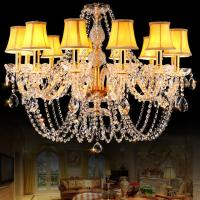 Buy cheap Gold Crystal chandelier light Fixtures For Dining room Living room (WH-CY-17) from wholesalers
