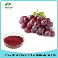 Buy cheap Anti-inflammation Natural Grape Skin Extract Powder 5% Resveratrol from wholesalers