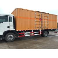 Buy cheap High Security Van Cargo Truck SINOTRUK HOWO 4X2 LHD Euro 2 Lorry Vehicle from wholesalers