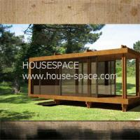 Buy cheap Affordable Modern Prefab Container House , Standard Wooden Container Cottage Good Insulation from wholesalers