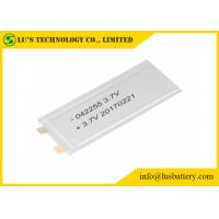 Buy cheap LP042255 Rechargeable Lithium Polymer Battery 3.7V lithium ion battery small li po battery 3.7v from wholesalers
