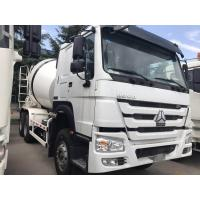 Buy cheap HOWO Diesel Self Loading 10 Cubic Meters 6×4 Concrete Mixer Truck With Q345B Material from wholesalers