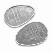 Buy cheap PU Gel Heel Pads, Washable and Reusable, Ideal for Closed Back Shoes from wholesalers