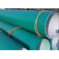 Buy cheap FBE Epoxy Coal Tar Wrap Glass Fiber Cloth SSAW Steel Pipe For Water Project from wholesalers