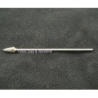Buy cheap Long shank 3mm G shape Tungsten file/ carbide burrs from wholesalers