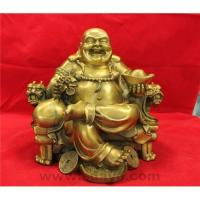 Buy cheap Laughing buddha on throne chair from wholesalers