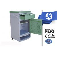 Buy cheap ABS Hospital Bedside Cabinet , Plastic Bedside Cabinet With Shoes Shelf from wholesalers