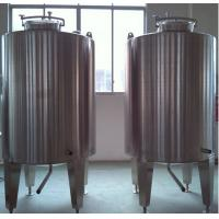 Buy cheap Stainless Steel Milk Mixing Tank Jacketed Wall For Beverage Industry product