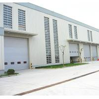 Buy cheap Speed 1.0m/s Exterior Security Industrial Sectional Doors Rolling Back Model from wholesalers