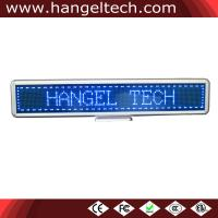 Buy cheap 16x128 Programmable Desktop LED Counter Display Moving Display Scrolling Message Sign from wholesalers