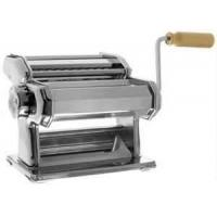 Buy cheap Slivery color stainless iron three cutters 180 Italian completed roller pasta making machine, kitchenaid pasta makers from wholesalers
