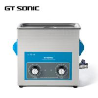 Buy cheap Laboratory Industrial Ultrasonic Cleaner SUS304 6L 40kHz 150W With Drain Valve from wholesalers