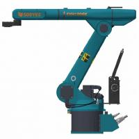 Buy cheap High Reliability Pneumatic Pick And Place Robot , Economical Mini Robot Arm product