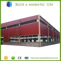 Buy cheap prefabricated small steel structure workshop building solutions supplier from wholesalers