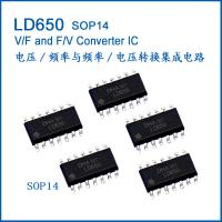 Buy cheap LD650 Frequency Voltage converter ASIC AD650 SOP14 from wholesalers