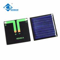 Buy cheap 5V 0.27W polycrystalline solar panels for DIY ZW-4545 Lightweight Silicon Solar from wholesalers