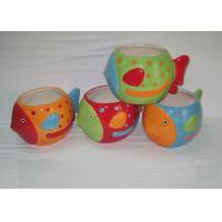 Free Hand Painted Ceramic Garden Planters Earthenware