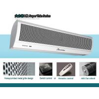 China 1m, 1.5m,1.8m, 2m Wall Mounted Air Barrier Compact Titan Residential Air Curtain With Metal Cover on sale