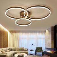 Buy cheap Drop Black ceiling light panels Ring Ceiling lamp For indoor home Lighting (WH-MA-95) from wholesalers