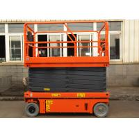 Buy cheap Electric Self Propelled Aerial Work Platform Mobile Hydraulic Man Lift Equipment product