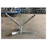 Buy cheap Chain Link Fence Razor Barbed Wire Extension Arm V Shape Stand Easily Assembled from wholesalers