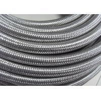 Buy cheap Outer Stainless Steel Braided Compressed Air Hose Pure Rubber Tube Inside from wholesalers