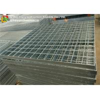 Buy cheap Q235 Hot Dipped Galvanized Steel Grating Stair Treads Trench Cover / Drain from wholesalers