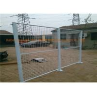 Buy cheap Workshop Galvanized Metal Security Fencing PVC Coated Wire Mesh Fence Rust Resistance from wholesalers