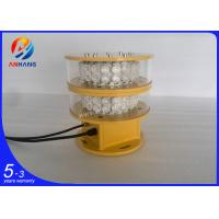 Buy cheap AH-MI/I Dual Obstruction Light / Led flashing warning beacon lights from wholesalers