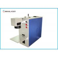 Buy cheap Mini 20W Fiber Metal Laser Marking Machine For Metal Printed Circuit Chip Mobile Phone Shell from wholesalers