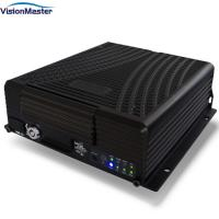 Buy cheap 2TB HDD 3G / 4G Mobile DVR 4CH AHD 960P 1080P GPS Tracking For School Bus product