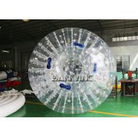Buy cheap White Outdoor Inflatable Toys Inflatable Body Glow Zorbing Ball With LED Light from wholesalers