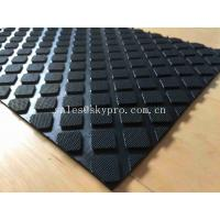 Buy cheap Hardness Rubber Matting Square Rubber Flooring Mats With 60-80 Shore A Hardness from wholesalers