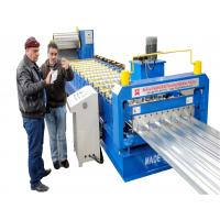 Buy cheap Trapezoidal Metal Roofing Sheet Roll Forming Machine Roof Panel Roll Forming Machine from wholesalers