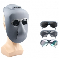 Buy cheap Full Face Preotection Grimace Shockproof Shade 14 Welding Lens product