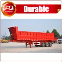 Buy cheap China cheap 3 axle tractor hydraulic dump trailer/Tipper Dumper Truck on sale from wholesalers