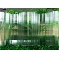 Buy cheap 50 Micron UV - Protection Polycarbonate clear Plastic Corrugated Sheets For Wall from wholesalers
